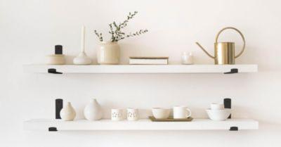 4 Tips for Installing Floating Shelves