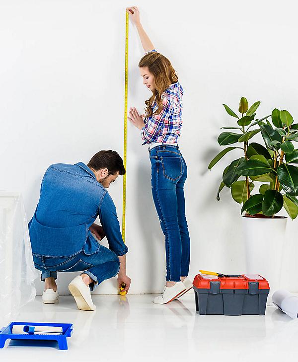 Measuring Floating Shelf Clearance