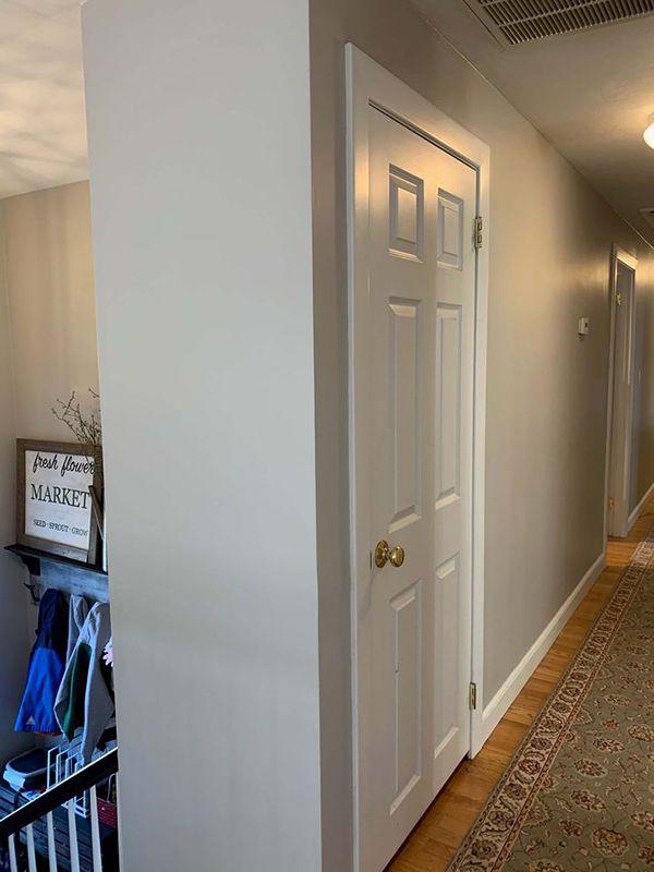 Remove your existing door
