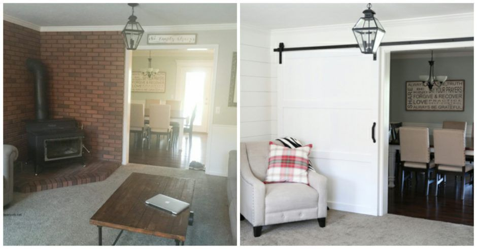 The Idea Room - Before & After