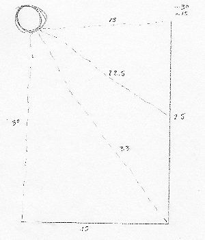 Outdoor String Lights - Rough Sketch