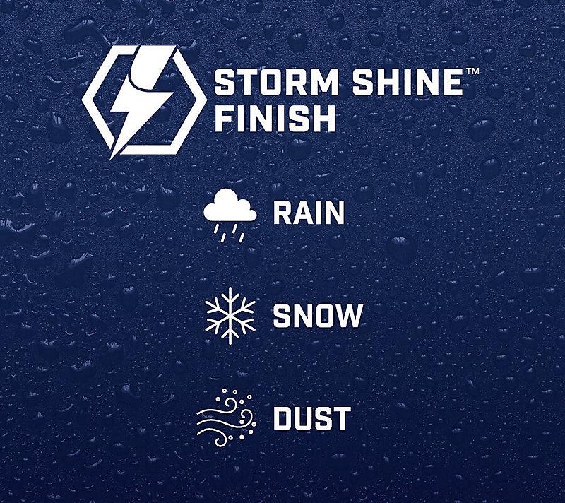 Storm Shine Finish