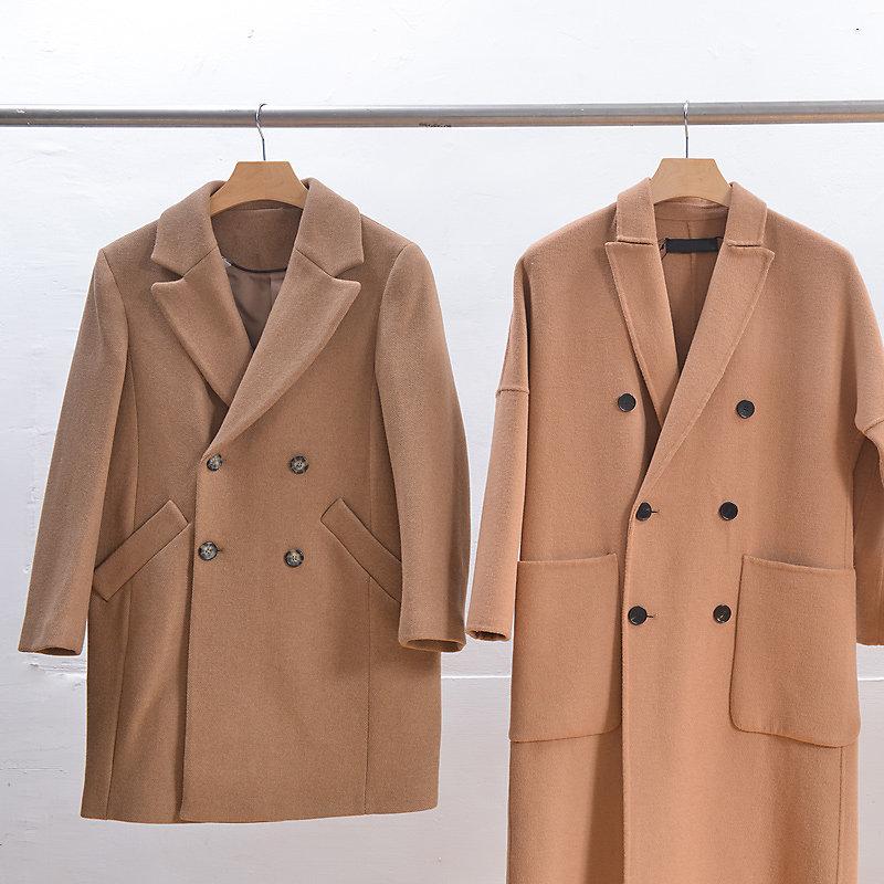 Coats hanging from closet rod