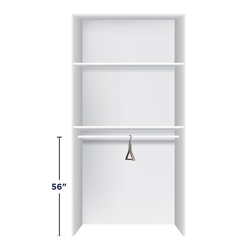 Height for Closet Rods - Medium