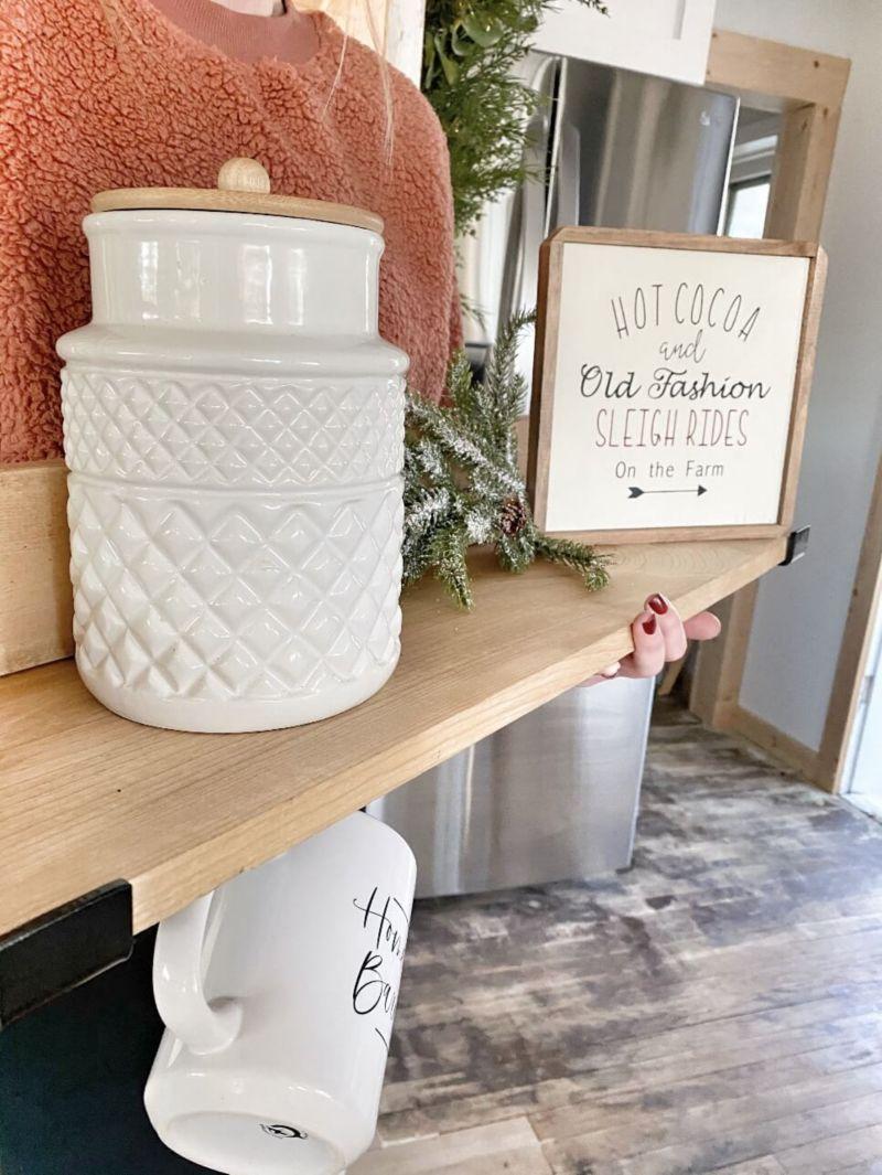 Finished Product DIY Shelf