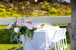 Floral Chandelier Hanging