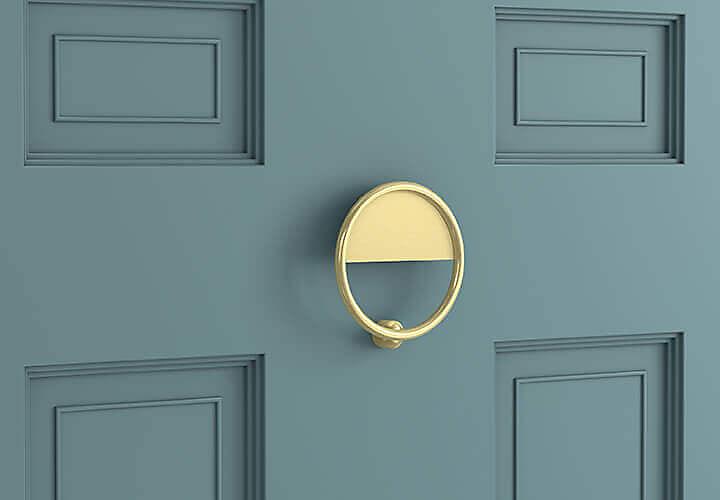 Hardware on Door