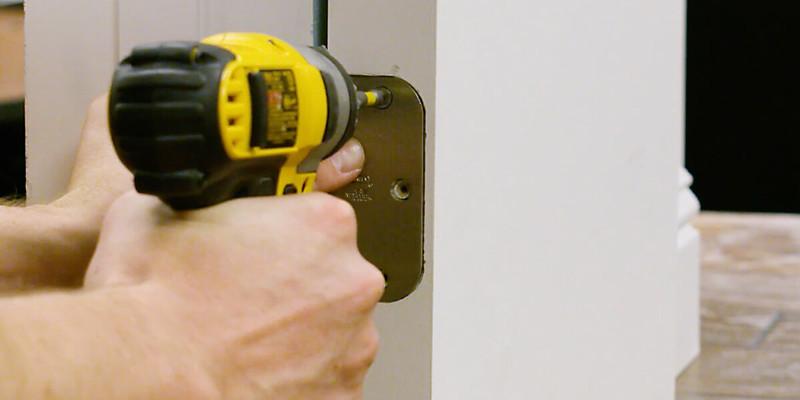Installing a Door Hinge