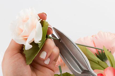 DIY Floral Backdrop - Step 2