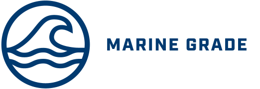 Logo indicating Marine Grade