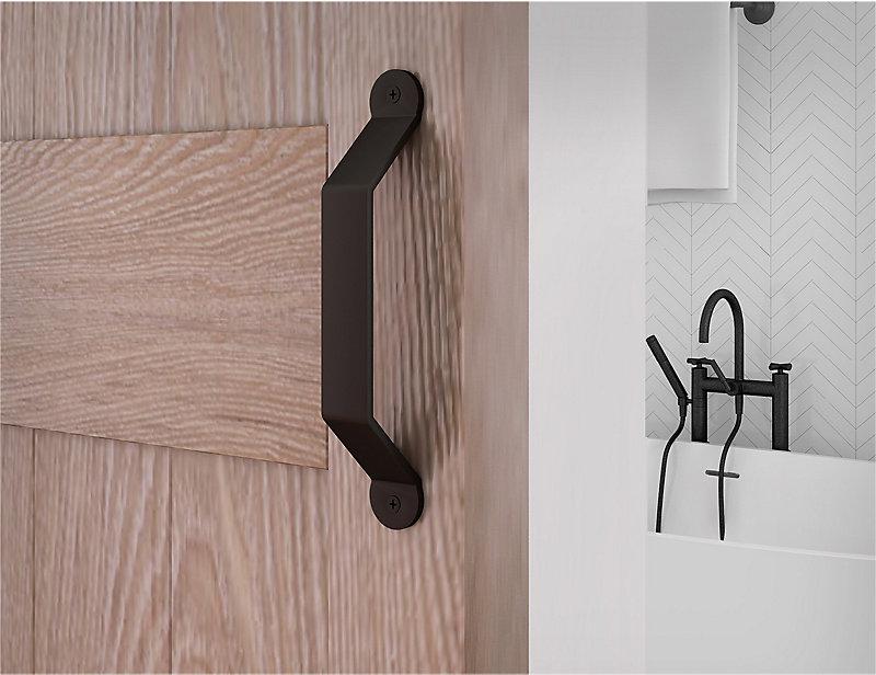 Standard Matte Black Barn Door Handle