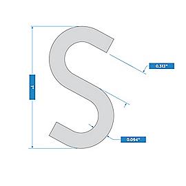 Supplementary Image for Open S Hooks