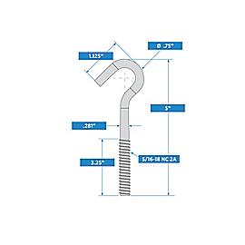 Supplementary Image for Hook Bolt