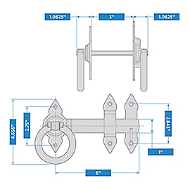 Supplementary Image for Spear Ring Latch