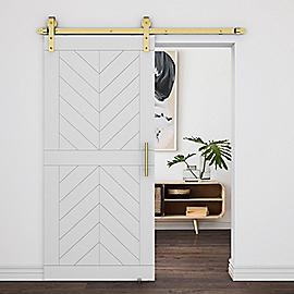 Supplementary Image for Designer Interior Barn Door Kit
