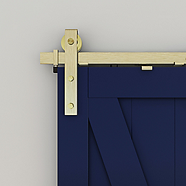 Vignette Image for Designer Interior Barn Door Kit