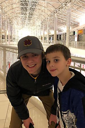 Eric Gilbertson's Sons Noah & Liam - NH Hero