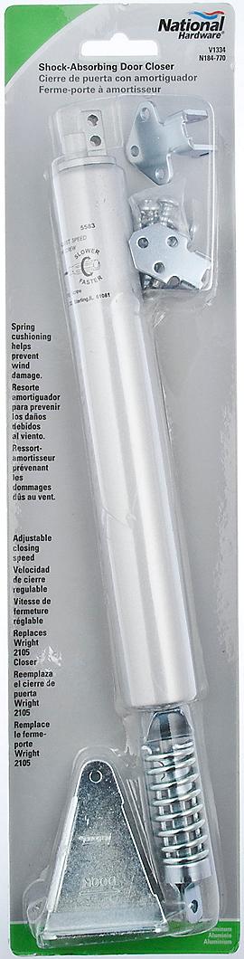 PackagingImage for Shock-Absorbing Door Closer