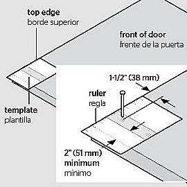 Supplementary Image for Decorative Interior Sliding Door Hardware