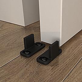 Vignette Image for Sliding Door Hardware Double Floor Guide