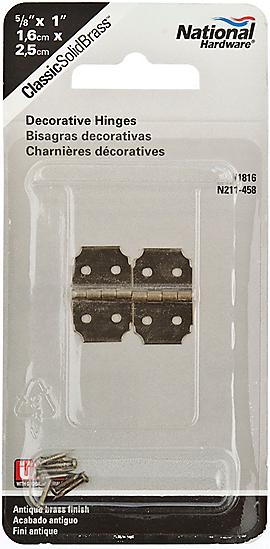 PackagingImage for Decorative Hinge