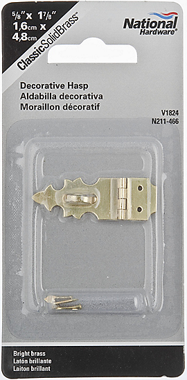 PackagingImage for Decorative Hasp