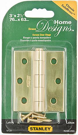 PackagingImage for Screen Door Hinge