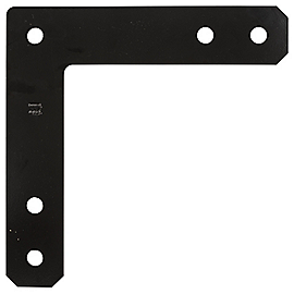 Clipped Image for Flat Corner Plate