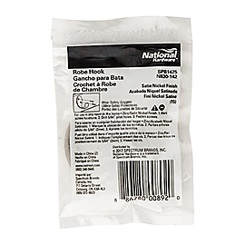 PackagingImage for Single Prong Robe Hook