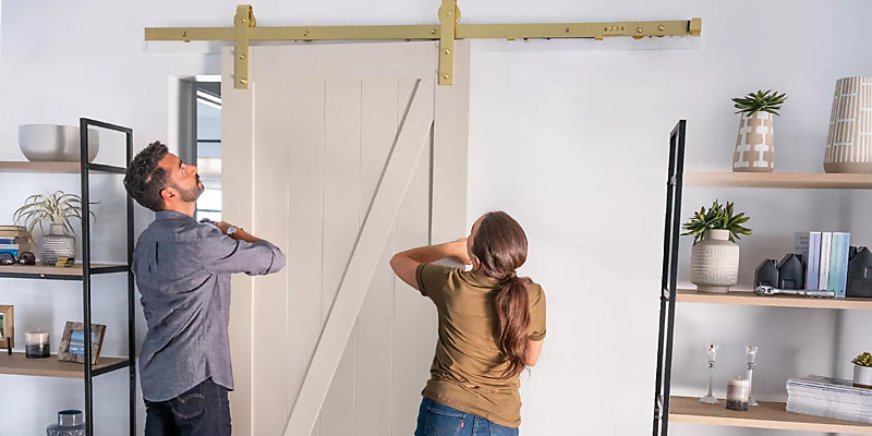 Nothing in Common? Reconnect with DIY Barn Doors.